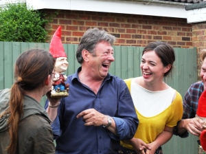 ITV's Love Your Garden gnomes