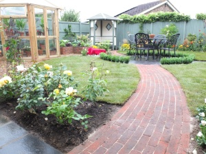 ITV's Love Your Garden brick pavers